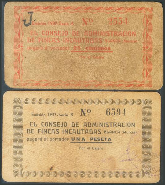 660 - Billetes Guerra Civil