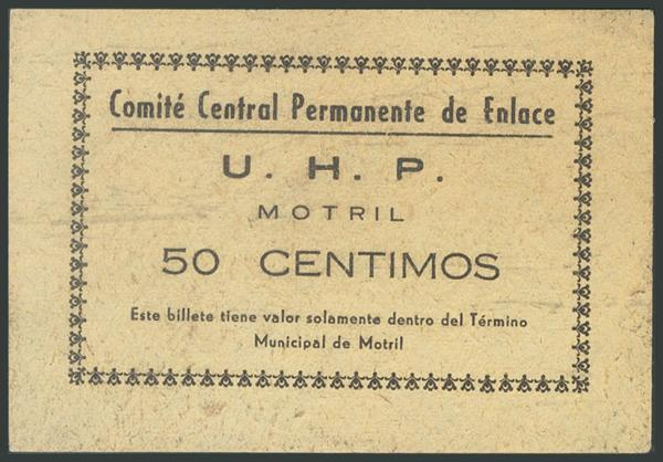 663 - Billetes Guerra Civil