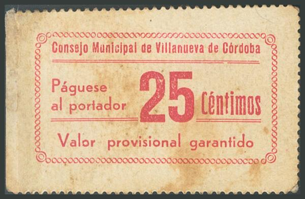 665 - Billetes Guerra Civil