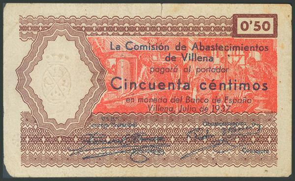 666 - Billetes Guerra Civil
