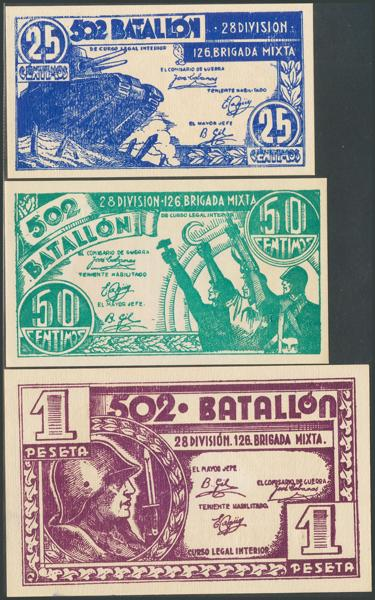 667 - Billetes Guerra Civil