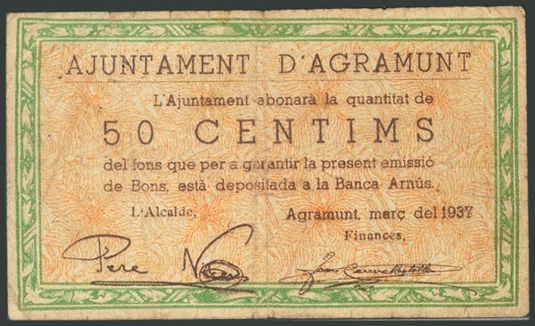 668 - Billetes Guerra Civil