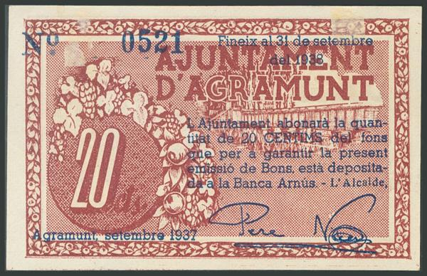 670 - Billetes Guerra Civil