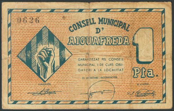 672 - Billetes Guerra Civil