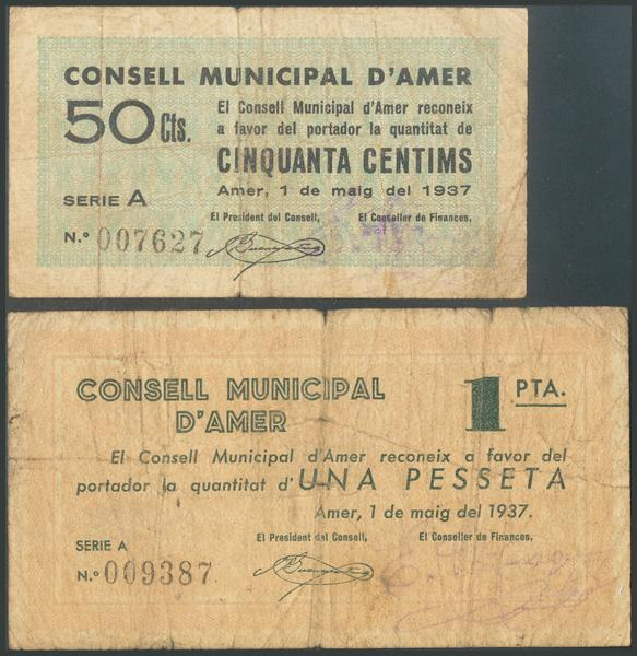 674 - Billetes Guerra Civil