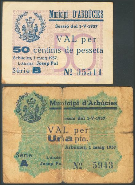 677 - Billetes Guerra Civil