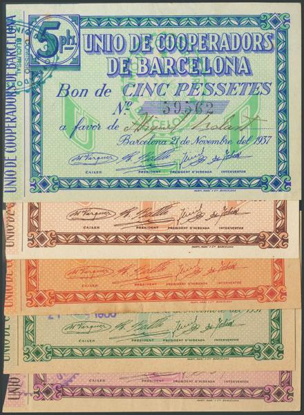 680 - Billetes Guerra Civil