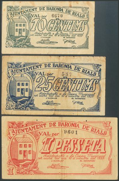 681 - Billetes Guerra Civil