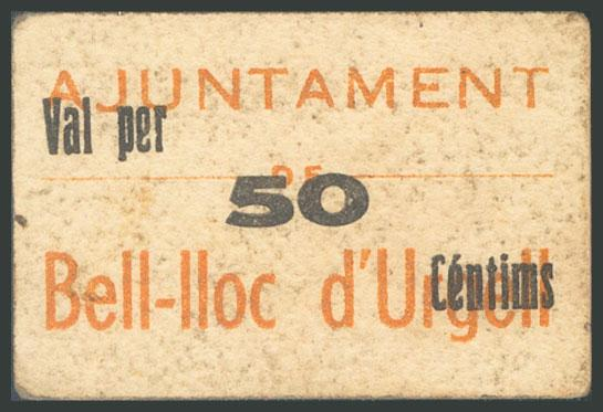 682 - Billetes Guerra Civil