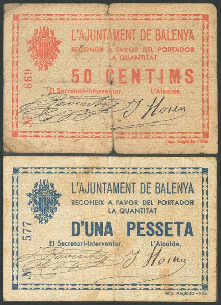 683 - Billetes Guerra Civil