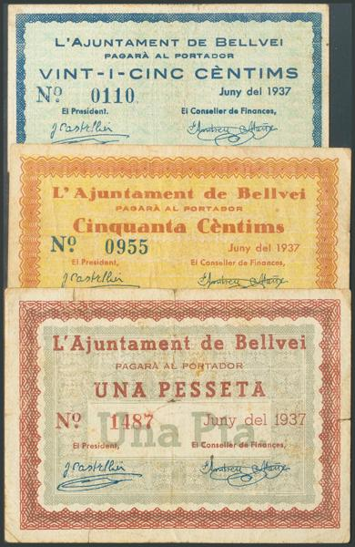 684 - Billetes Guerra Civil