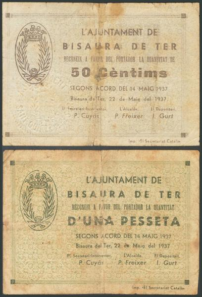 685 - Billetes Guerra Civil