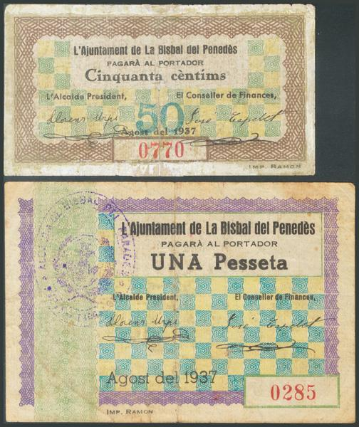 686 - Billetes Guerra Civil