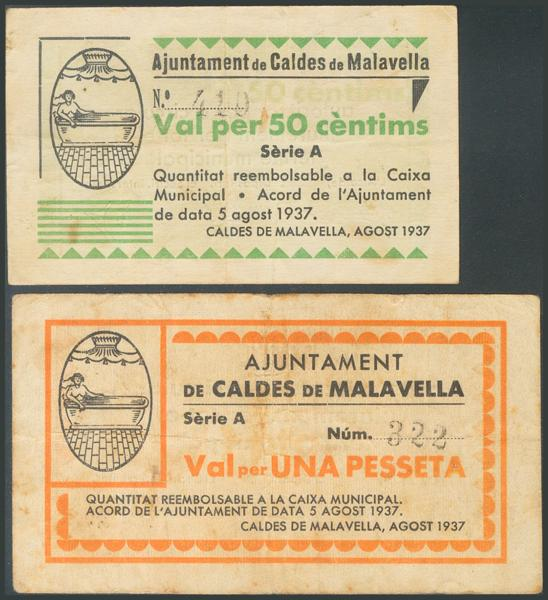 691 - Billetes Guerra Civil