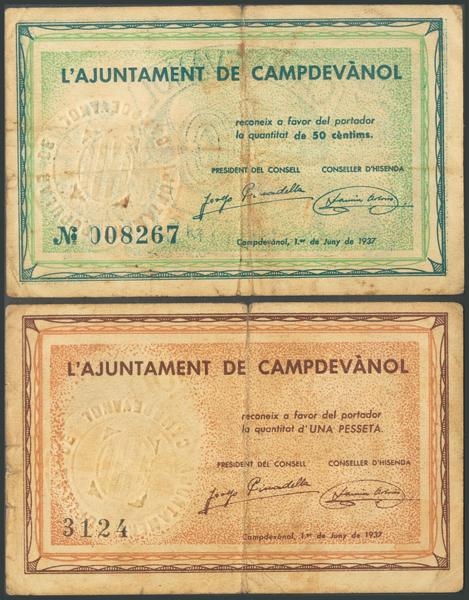 694 - Billetes Guerra Civil