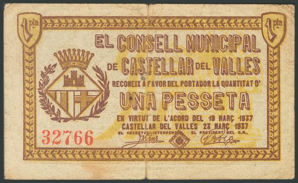 697 - Billetes Guerra Civil