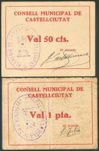 699 - Billetes Guerra Civil