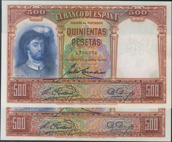 923 - Billetes Españoles