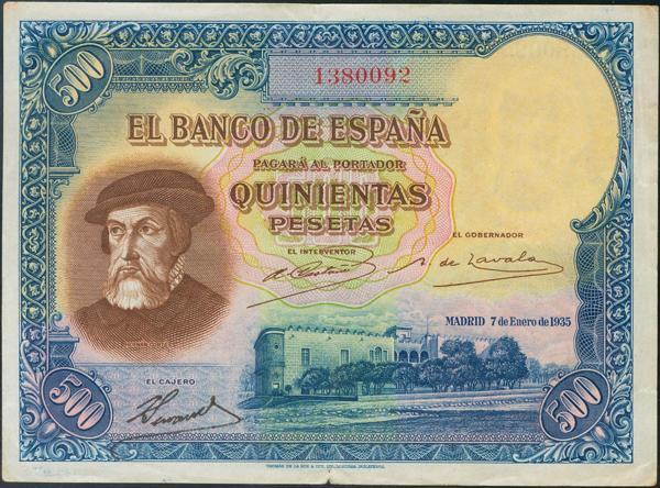 924 - Billetes Españoles