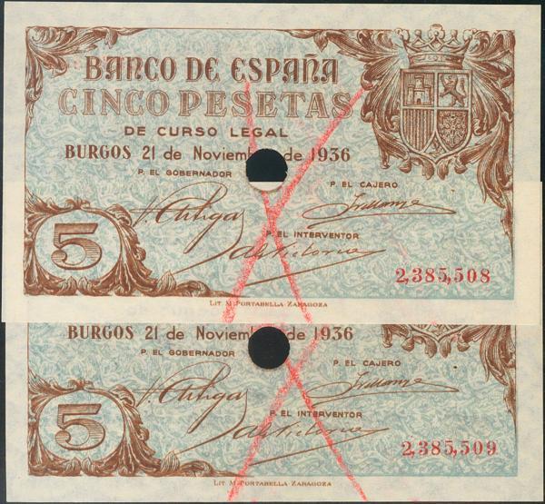 926 - Billetes Españoles