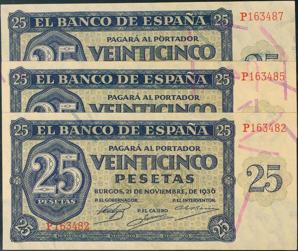 927 - Billetes Españoles
