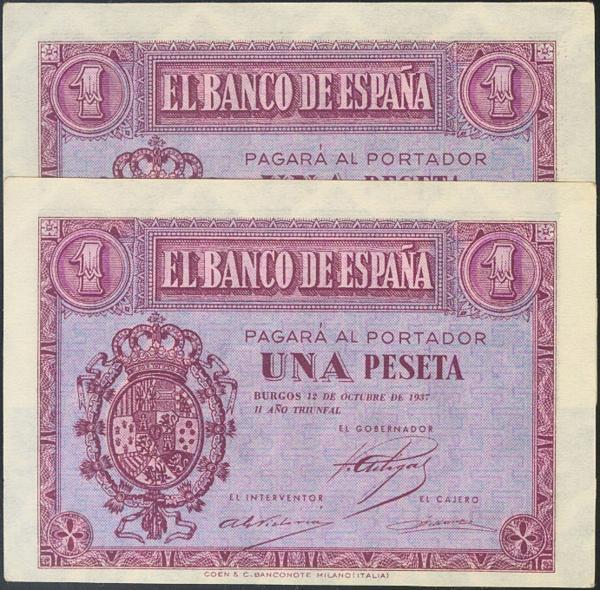 928 - Billetes Españoles