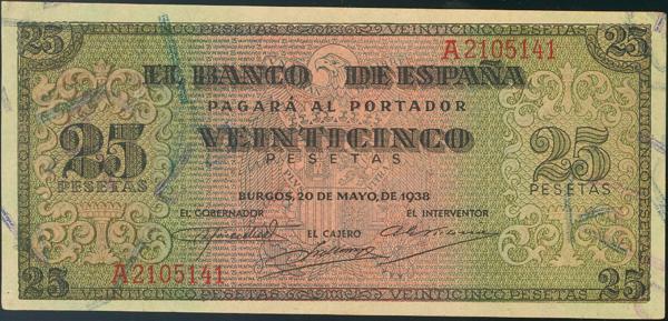 929 - Billetes Españoles