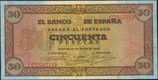 930 - Billetes Españoles