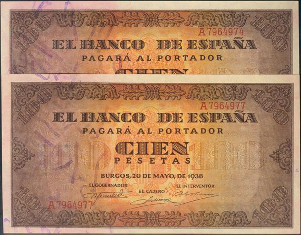 931 - Billetes Españoles