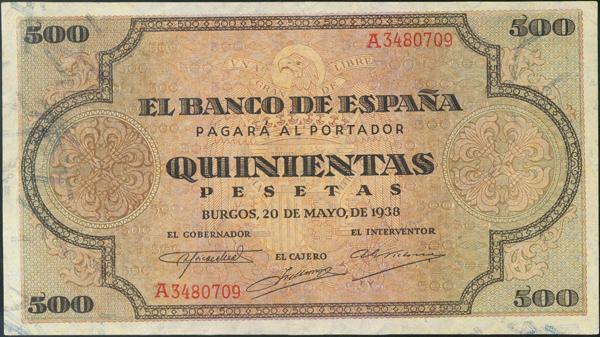 932 - Billetes Españoles