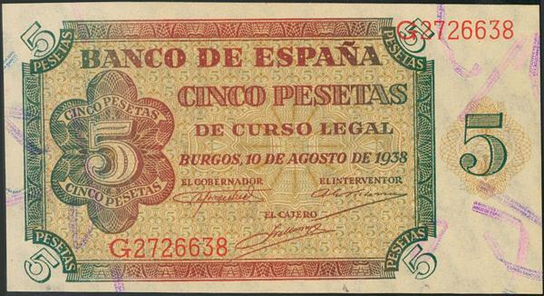 933 - Billetes Españoles