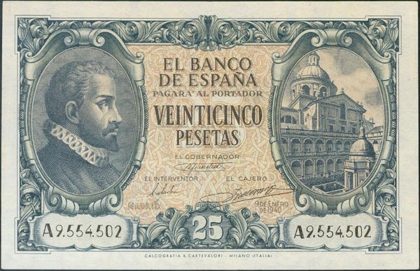 934 - Billetes Españoles