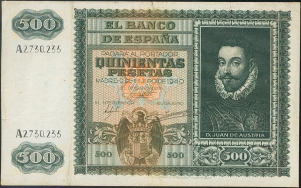 935 - Billetes Españoles