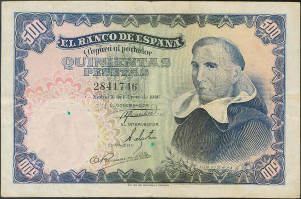938 - Billetes Españoles