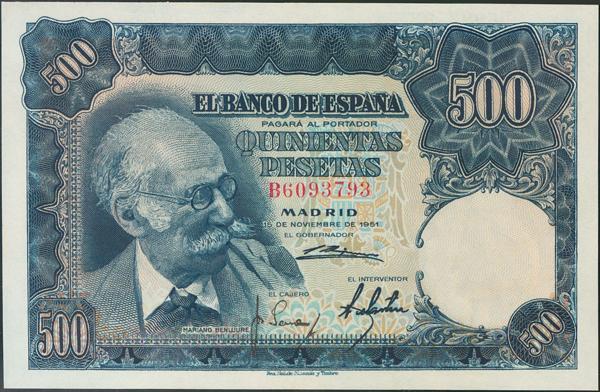 939 - Billetes Españoles