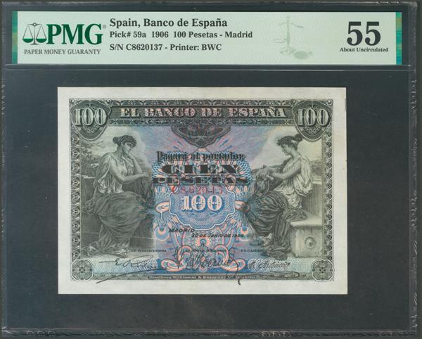 1002 - Billetes Españoles