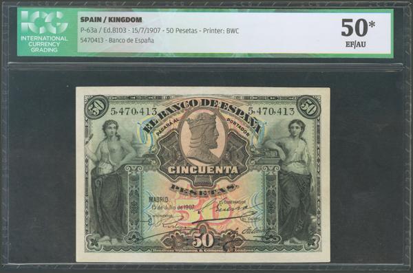 1012 - Billetes Españoles