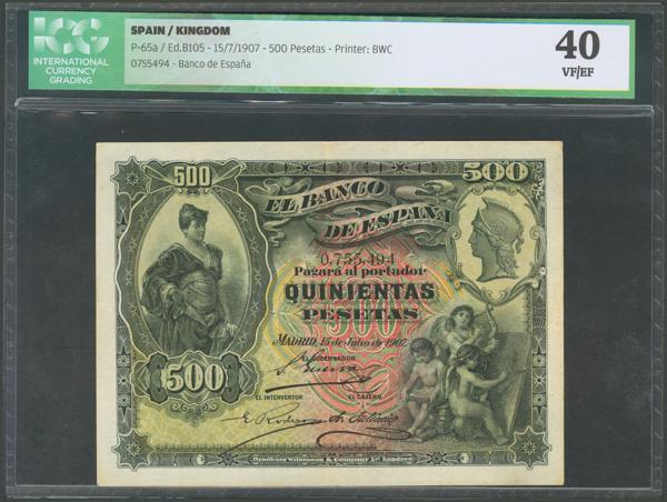 1014 - Billetes Españoles