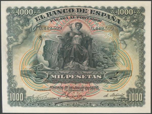 1017 - Billetes Españoles