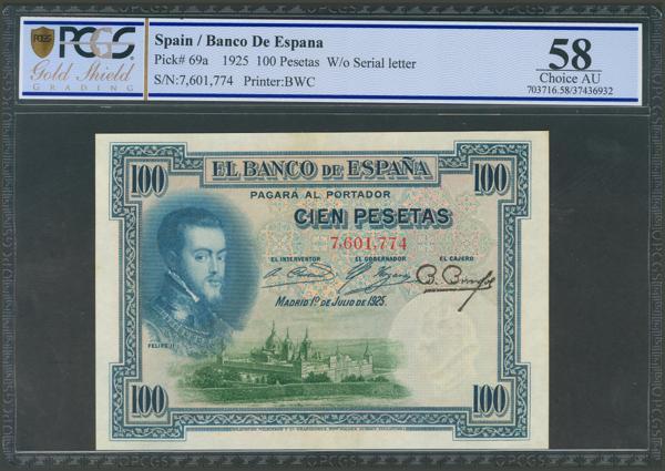 1021 - Billetes Españoles
