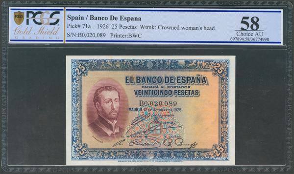 1022 - Billetes Españoles