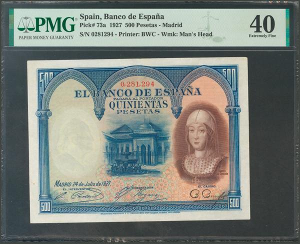 1027 - Billetes Españoles