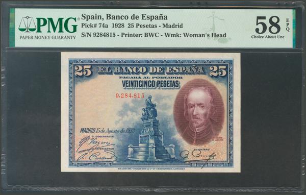 1028 - Billetes Españoles