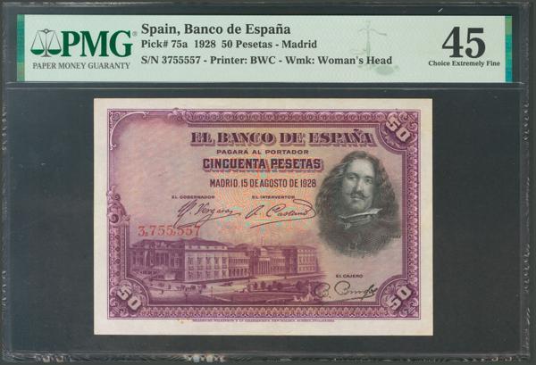 1030 - Billetes Españoles