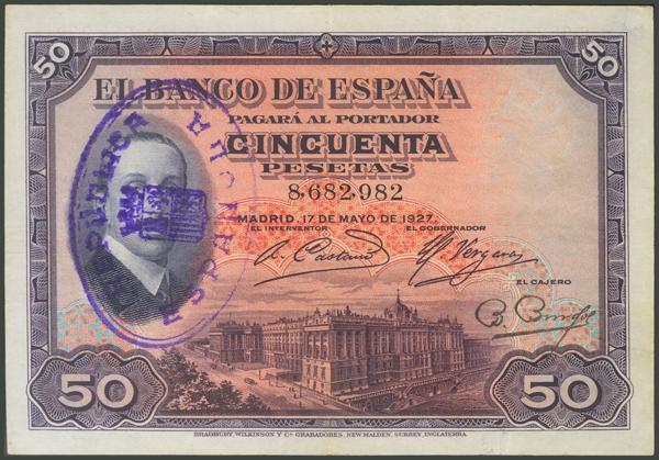 1031 - Billetes Españoles