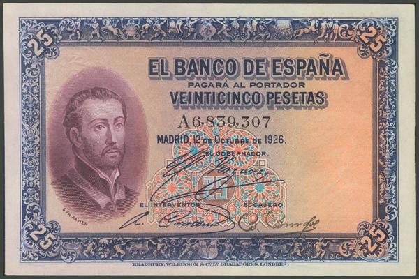 1032 - Billetes Españoles