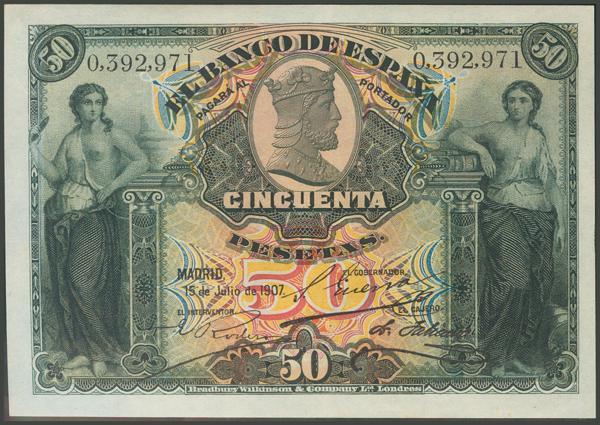 1034 - Billetes Españoles