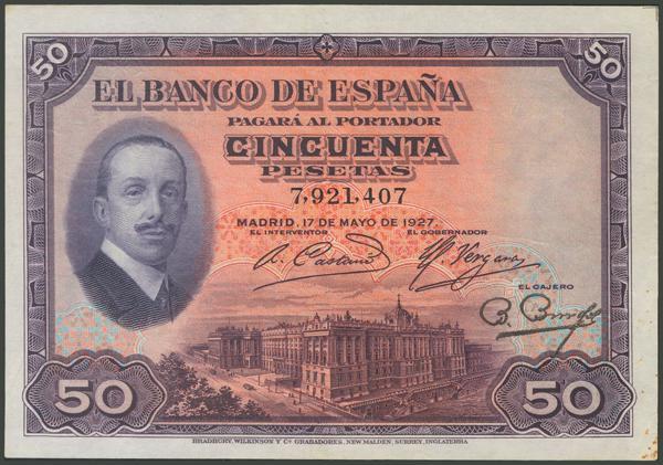 1035 - Billetes Españoles