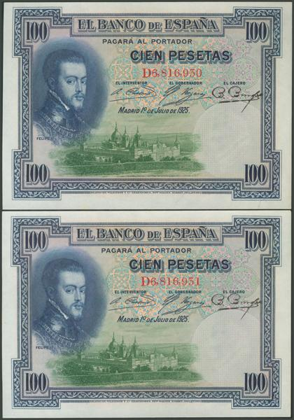 1036 - Billetes Españoles