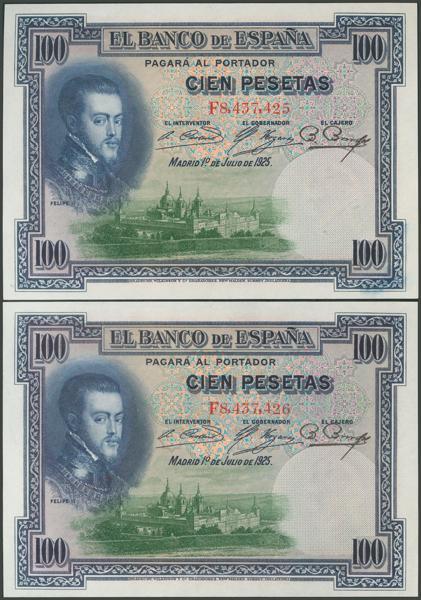 1037 - Billetes Españoles